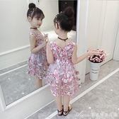 女童夏裝新款韓版兒童洋裝夏季潮衣時尚公主裙雪紡洋氣裙子艾美時尚衣櫥