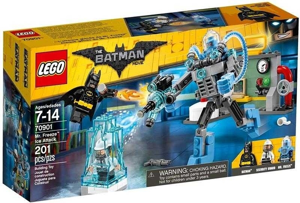 LEGO 樂高 Batman Movie 蝙蝠俠電影 Mr. Freeze Ice Attack 急凍人冰襲70901