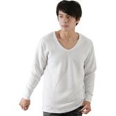 【源之氣】竹炭男條紋保暖衣白(2入) RM-10095