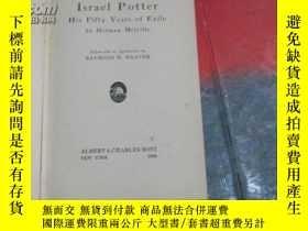二手書博民逛書店1924年出版《israel罕見potter--his fift