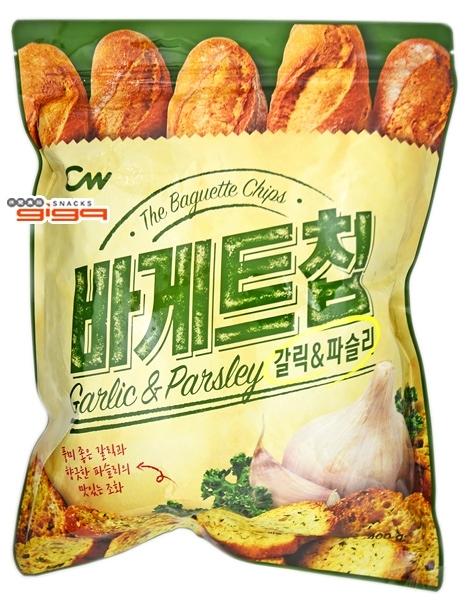 【吉嘉食品】CW 大蒜麵包風味餅乾 每包400公克,產地韓國 {8801204903195}[#1]