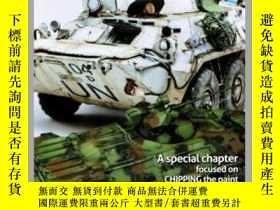 二手書博民逛書店MODELLING罕見THE BTR EIGHT-WHEELED-BTR八輪車模型Y414958 出版2