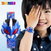 兒童手錶男孩女孩小學生手錶男童女童奧特曼電子錶時尚數字手錶 【開學季巨惠】