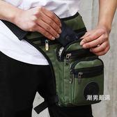腿包多功能運動戶外休閒摩托騎行釣魚腰包男女戰術包防水腿包軍迷裝備
