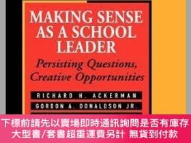二手書博民逛書店預訂Making罕見Sense As A School Leader: Persisting Questions,