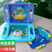 男女孩專注力訓練益智玩具3-5-7周歲幼兒園掌上平衡滾珠走珠迷宮 露露日記