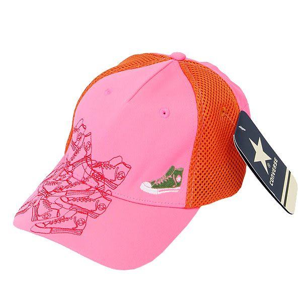 CONVERSE 帆布鞋繡花系列休閒帽(粉紅色) 172U333404
