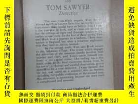 二手書博民逛書店英文書TOM罕見SAWYER Abroad TOM SAWYER Detectiue MARK TWAIN 32開