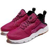 【四折特賣】Nike 武士鞋 Wmns Air Huarache Run Ultra 桃紅 紫 白 基本款 運動鞋 女鞋【PUMP306】819151-602