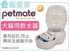 ☆寵愛家☆美國 Petmate《Replendish系列  餵水器1.9公升(XS》犬貓用飲水器,(附有濾心1入)