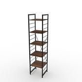 組 - 特力屋萊特 組合式層架 黑框/深木紋色 40x40x188cm