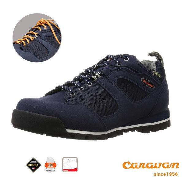 【日本Caravan】  C7_03 低筒登山健行鞋 (海軍藍)