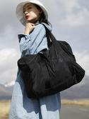 運動包短途旅行包女手提大容量行李包便攜登機折疊旅行袋男健身包 潮流衣館