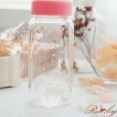 水瓶 櫻花動物圖案玻璃水瓶-1兔子-Ruby s露比午茶