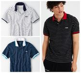 (BJGO) AMERICAN EAGLE_男裝_AE SHORT SLEEVE LOGO STRIPE POLO SHIRT 經典老鷹條紋POLO衫