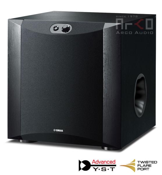 山葉 YAMAHA NS-SW300 超重低音喇叭 (木紋黑)