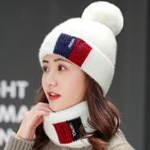 帽子 毛線帽子女士冬天潮韓版百搭秋冬季圓臉適合的網紅時尚保暖加絨帽