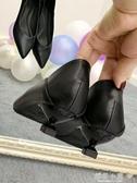 高跟鞋細跟工作鞋面試職業黑色禮儀貓跟3公分小跟鞋2019新款女鞋『櫻花小屋』