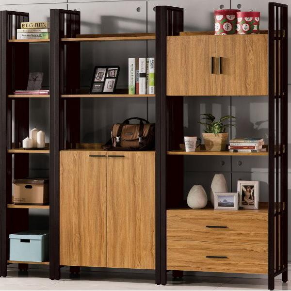 書櫃 書櫥 QW-539-234 鋼克里7尺書櫃【大眾家居舘】