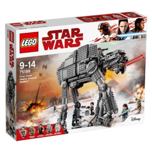 LEGO 樂高 Star Wars Episode VIII First Order Heavy Assault Walker 75189 (1376 Piece)