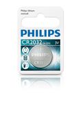 [富廉網] PHILIPS 飛利浦 CR2032 鈕扣型電池 (10入)