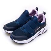 LIKA夢 GOODYEAR 固特異高彈緩震輕便慢跑鞋 銀河系GALAXY R1系列 藍紫 92707 女