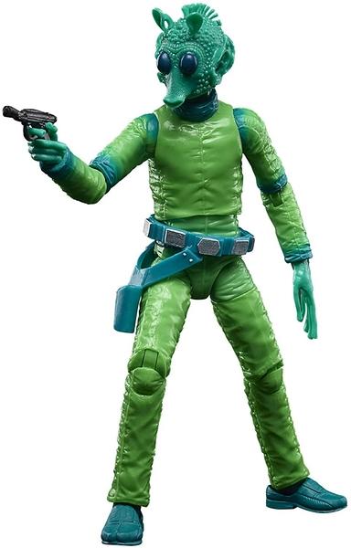 《 STAR WARS 星際大戰 》盧卡斯50週年黑標KEENER 6吋人物 - GREEDO / JOYBUS玩具百貨