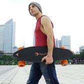 滑板 新款電動滑板四輪成人無線遙控雙驅長板小魚板高速代步車 莎瓦迪卡