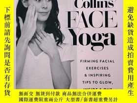 二手書博民逛書店Danielle罕見Collins Face Yoga: Firming facial exercises &