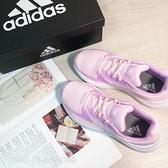 《7+1童鞋》ADIDAS RUNFALCON2.0K 輕量透氣 高效能跑鞋 運動鞋 7440 粉色