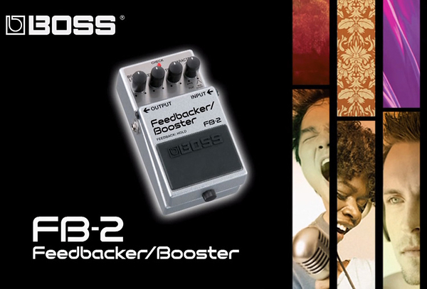 小叮噹的店- 效果器 Feedbacker/Booster BOSS (FB-2) 單顆踏板