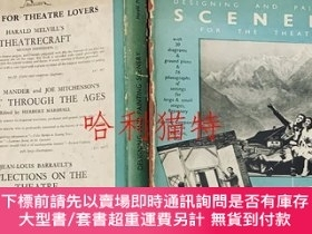 二手書博民逛書店英文DESIGNING罕見AND PAINTING SCENERY FOR THE THEATREY40394