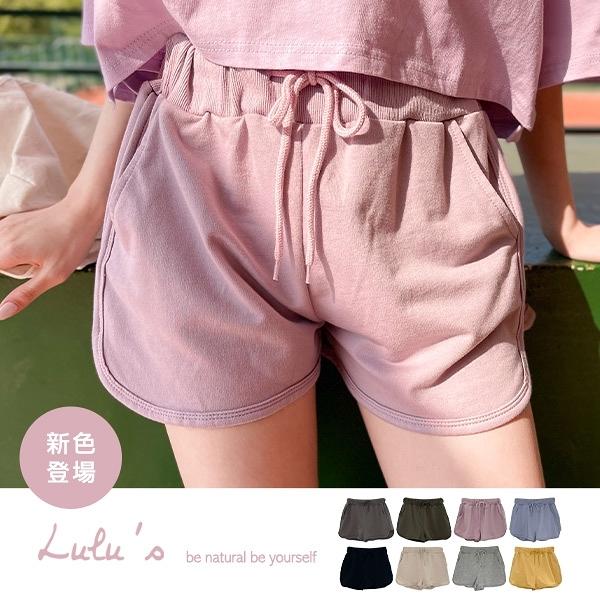 LULUS特價【A04200207】K自訂款綁帶休閒短褲8色