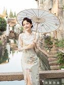 改良旗袍連身裙女秋冬季新款端莊大氣日常名媛中國風少女甜美 igo 薔薇時尚