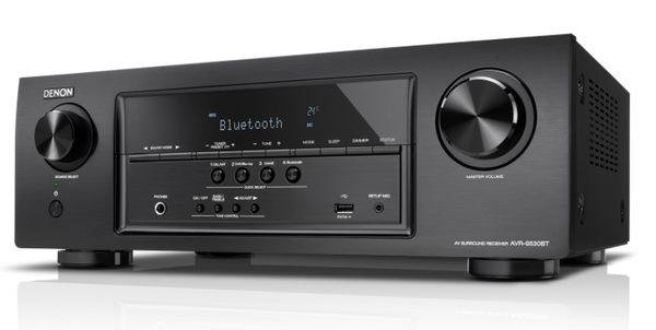 【名展音響】贈FIBBR 4K HDMI~ Denon AVR-S530BT 5.2聲道環繞擴大機 公司貨