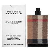 BURBERRY LONDON 倫敦男性淡香水 100ml Tester環保包裝 26979《Belle倍莉小舖》