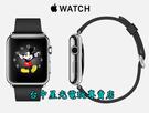 【Apple 蘋果 可刷卡】☆ Apple WATCH 38mm 不鏽鋼錶殼 黑色經典扣式錶帶 ☆【現貨供應】