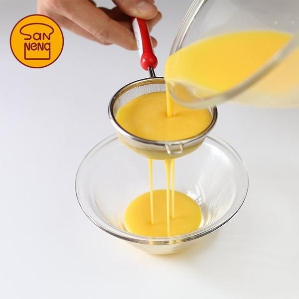 【甜手手】【V311】日本製 三能 304不鏽鋼糖粉篩 30目 手持麵粉篩 篩網 篩子 過篩器 漏網
