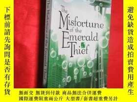 二手書博民逛書店The罕見Misfortune of the Emerald T