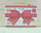 【震撼精品百貨】Hello Kitty 凱蒂貓~便條-紅蝴蝶結造型