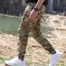 執政官戶外戰術束腳褲特種兵迷彩多口袋工裝...