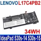LENOVO L17C4PB2 34WH . 電池 L17C4PB0 L17M4PB0 IdeaPad 530s-14 530s-15 530s-14ARR 530s-14IKB 530s-15IKB