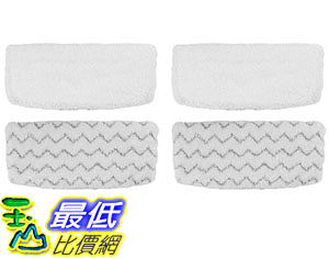 [107美國直購] Steam Mop Compatible Refill Pads For Bissell 1252 1606670 1543 1652 1132M 1530 11326