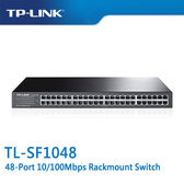 【免運費】TP-LINK  TL-SF1048  48-Port 10/100Mbps 商用 非管理型 交換器