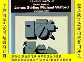 二手書博民逛書店Recent罕見Work for James Stirling
