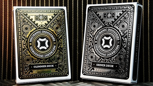 【USPCC 撲克】Metallic Deck Set (Limited Edition) by Mechanic In