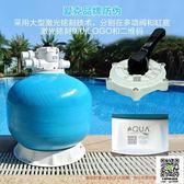 AQUA 愛克沙缸游泳池浴池水療池砂缸過濾器水凈化循環設備Q 頂式MKS99 一件