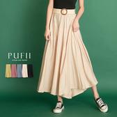 限量現貨◆PUFII-寬褲 鬆緊腰顯瘦素面寬褲裙-0609 現+預 夏【CP18677】