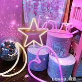個性愛心造型燈壁掛式led女 裝飾拍日系照道具燈  樂活生活館