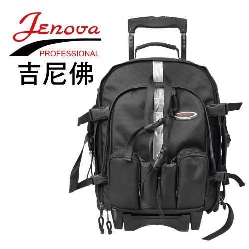 【聖影數位】JENOVA 吉尼佛 可拆式滑輪系列 BB-1998N 34*17.5*48cm 附防雨罩